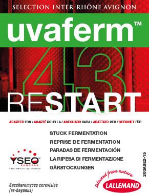 La nuova soluzione Lallemand per curare gli arresti di fermentazione: Uvaferm 43 restart