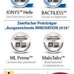 INTERVITIS INNOVATIONSPREIS – 4 Preise für Lallemand
