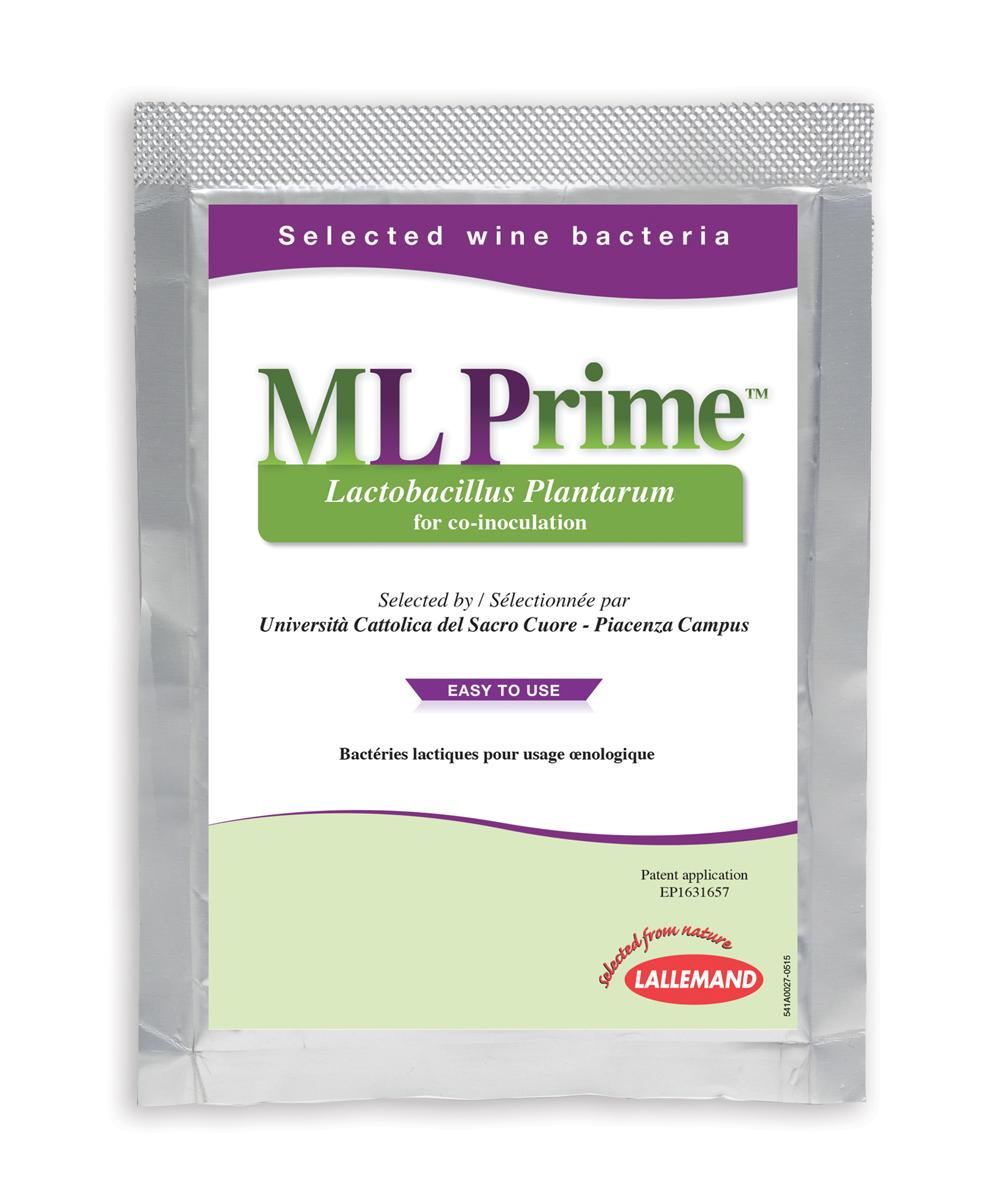 La co-inoculation pour réduire sans risque l'usage du SO2 : ML Prime