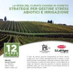 Convegno: La Sfida del climate Change in Vigneto: Strategie per gestire stress Abiotici e Irrigazione