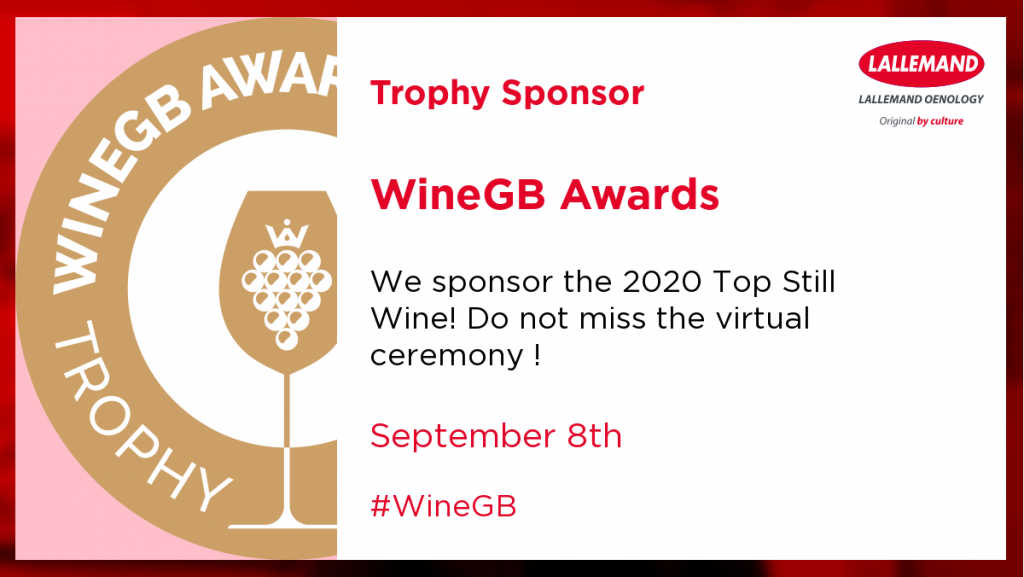 Lallemand WineGB trophy sponsor