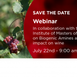 IMW – Webinar – Biogenic amines: the impact on wine sanitary status and quality